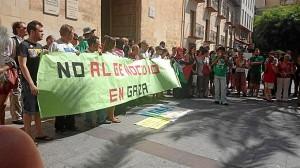 Manifestación en contra del conflicto. / Foto: Europa Press