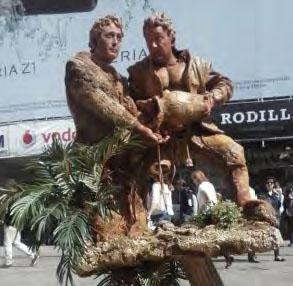 Los gemelos se instalarán en la plaza del Mercado Grande.