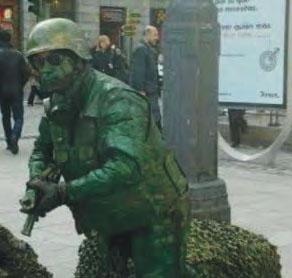 El 'Soldado' estará en la Plaza de Adolfo Suárez.