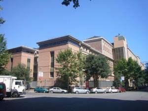 Fachada del Hospital Clinic de Barcelona. / Foto: wikipedia