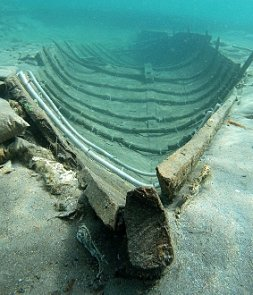 Barco fenicio hundido en Mazarrón (Murcia)