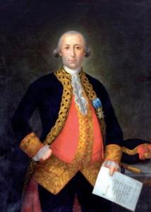 Retrato de Bernardo de Gálvez que se colgará en el Capitolio.
