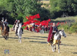 Los vecinos y amigos de la localidad burgalesa se convierten en actores por un día. / Foto: Facebook Turismo de Burgos