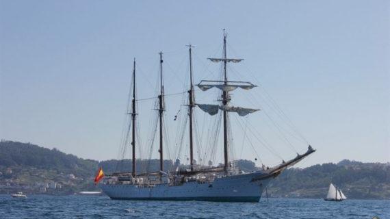 La Armada localiza un alijo de droga en el Juan Sebastián Elcano
