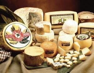 Los excelentes quesos cántabros. / Foto: Europa Press