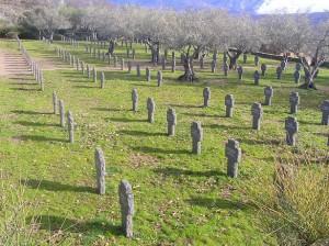 Cementerio de Cuacos de Yuste.