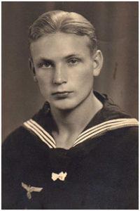 La foto que Hubert Sasse llevaba consigo cuando lo encontraron en Burriana.