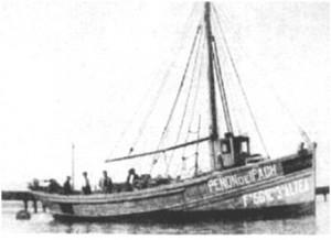 El barco pesquero 'Peñón de Ifach'.