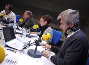 Siempre ha trabajado con grandes de la radio, como Iñaki Gabilondo. / Foto: www.cadenaser.com