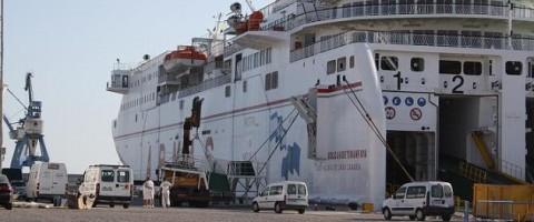 Detenido un preso fugado que pretendía huir a bordo de un ferry