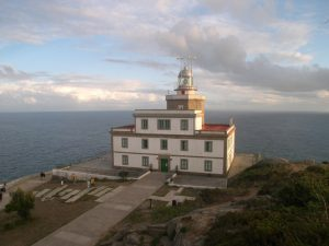 Faro de Finisterra.