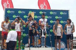 Ganadores del K-2 de este 2014. / Foto: www.turismoasturias.es