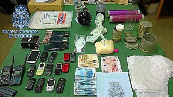 Detienen a 13 miembros de una organización dedicada al tráfico de cocaína en Málaga