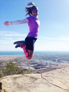 Marta Lozano disputará un triatlón en Gandía.  / Foto: www.1km1sonrisa.org