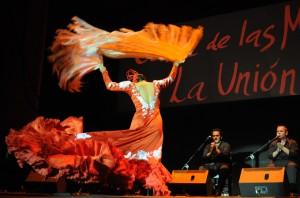 Festival Internacional del Cante de las Minas.