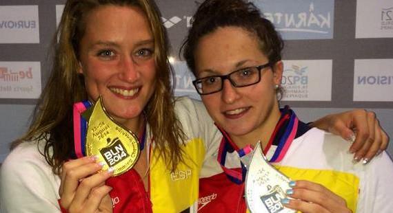 Mireia Belmonte y Judit Ignacio, medallas de oro y plata en los 200 mariposa