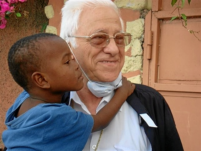 El padre Ángel. / Foto: Mensajeros de la Paz