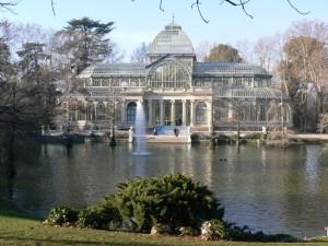 El Palacio de Cristal.
