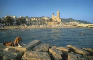 Playa de Sitges, en Barcelona. Foto: Francisco Sánchez / Generalitat