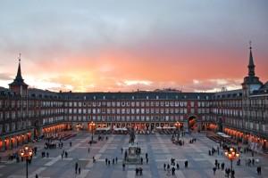 Plaza Mayor de Madrid.