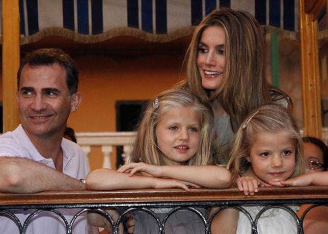 Los Reyes ya se encuentran en Palma con sus hijas. / Foto: Casa Real