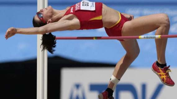 Ruth Beitia campeona de Europa en salto de altura