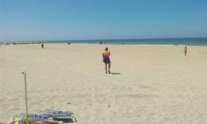 El artefacto ha sido retirado de la playa. / Foto: Europa Press