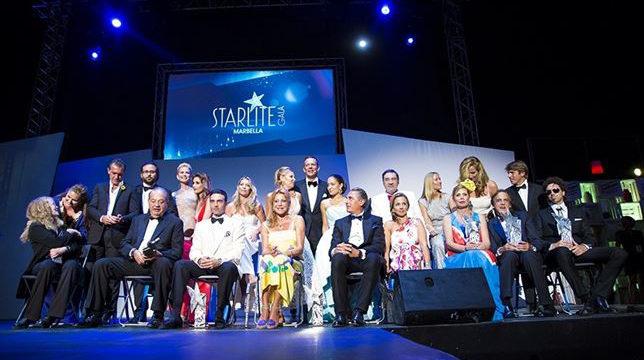 Marbella acogió una nueva edición de la gala solidaria 'Starlite'