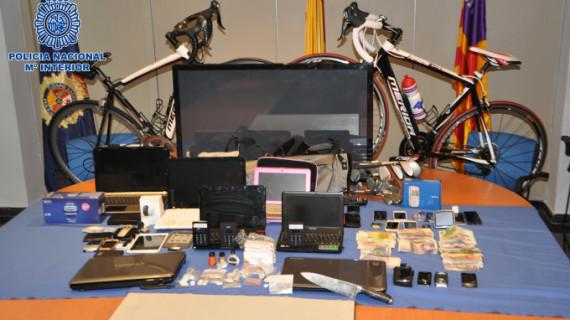 Desarticulada una organización criminal dedicada a la trata de seres humanos, robos y menudeo de cocaína