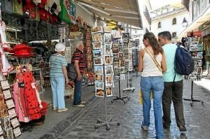 Turistas españoles.