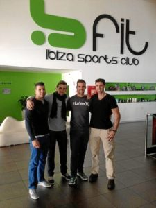 El equipo de Body Core: Javier Giménez, Raúl Muñoz, Javier Ortiz y Jesús Rivilla