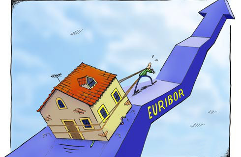 El Euríbor cierra abril con nuevo mínimo histórico