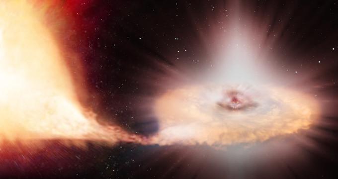 La misión Gaia descubre su primera supernova