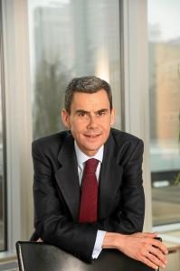 El presidente de la AECC, Javier Hortelano.
