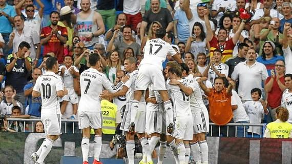 El Real Madrid afianza su estelar momento de forma