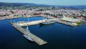 Los astilleros son esenciales en Galicia. / Foto: www.turismoindustrial.es