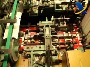 Maquinaria en la que se fabricaban las cajetillas. / Foto: Agencia Tributaria