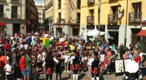 Las calles de Ávila son un auténtico circo. / Foto: Cir&Co