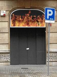 Fachada de uno de los locales cerrado. / Foto: Europa Press.