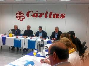 Presentación de la Memoria 2013 de Cáritas.