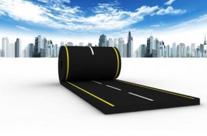 Inversión en carreteras.