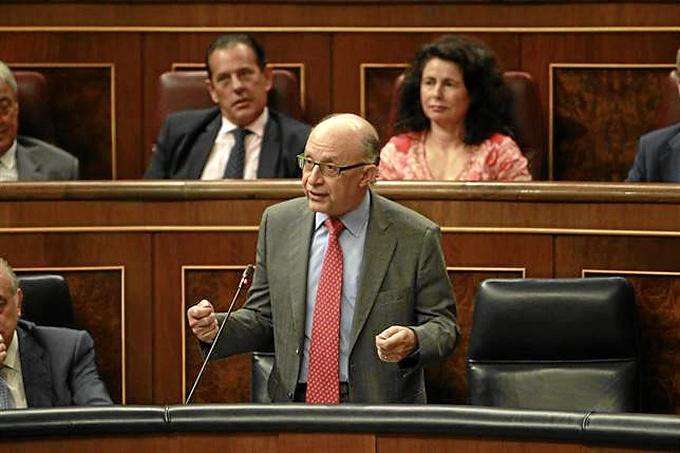 El ministro de Economía y Hacienda Cristóbal Montoro.