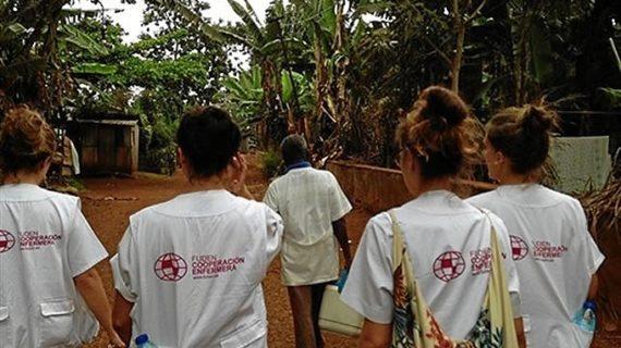 Unas 40 enfermeras españolas viajan a África y América para compartir conocimientos con profesionales locales