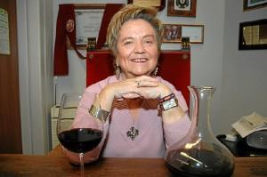 La enóloga Isabel Mijares.