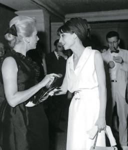 Deborah Kerr y Audrey Hepburn.