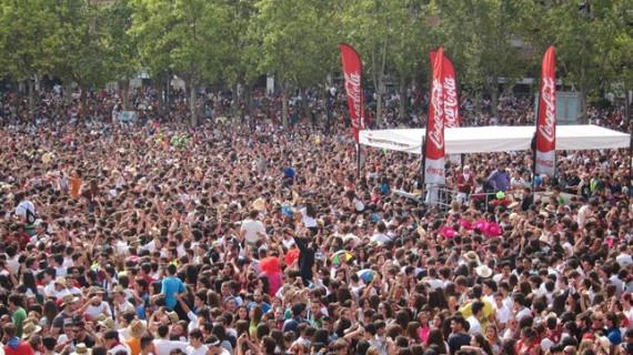 Carlos Jean hace vibrar Logroño en las fiestas de San Mateo y la Vendimia 2014