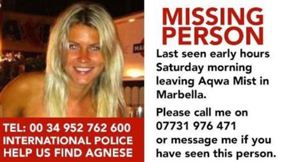 Marbella muestra su solidaridad sumándose a la búsqueda de una joven letona desaparecida en el municipio