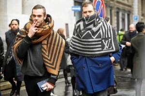 La prenda comenzó a florecer en la Semana de la Moda masculina.