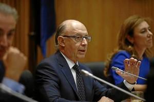 El ministro de Economía y Hacienda, Cristóbal Montoro. / Foto: Europa Press