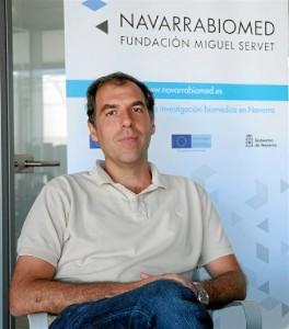 El investigador del Navarrabiomed. / Foto: EP/Gobierno de Navarra.